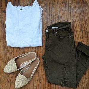 'Vintage America Blues' Olive Jeans